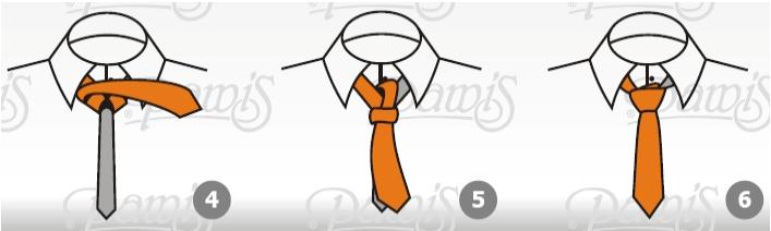 Wi�zanie krawata - w�ze� windsorski