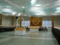 Dekoracja sali, Dom Ludowy Pniówek